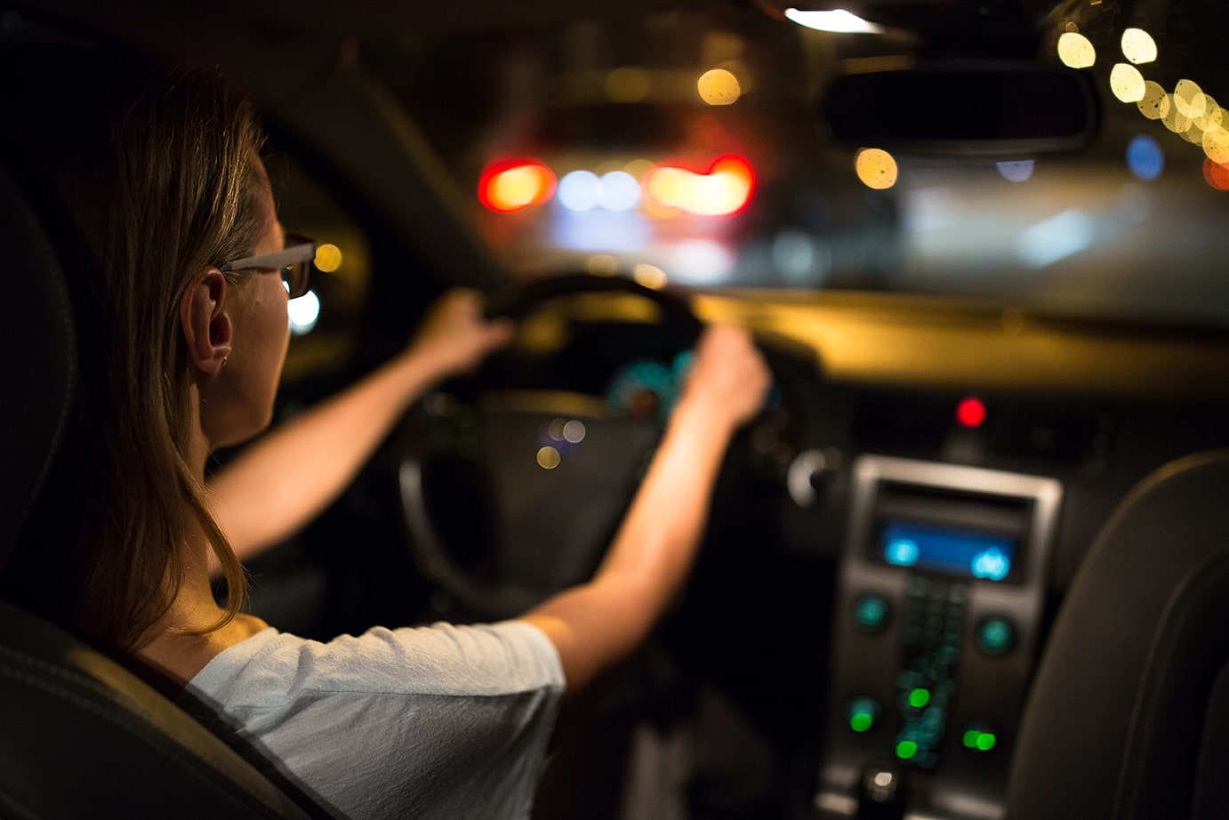 You like to drive at night. Be safe. Learn how here.