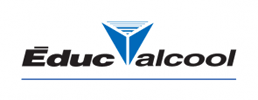 Logo of Éduc Alcool - Moderation is always in good taste.