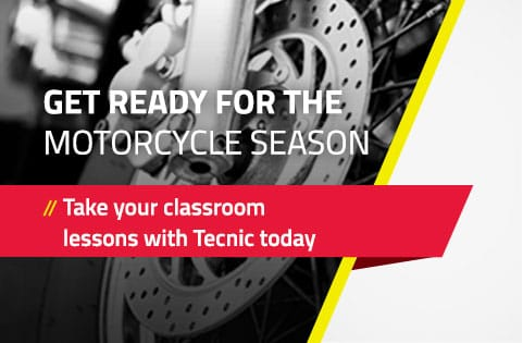 Get ready for the motorcycle season with tecnic