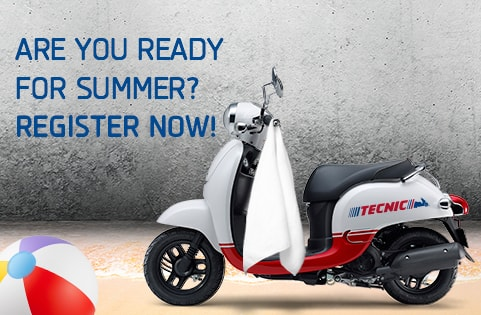 Are you ready for summer? Get you moped driving license with Tecnic driving school today and start to fully enjoy your summer.