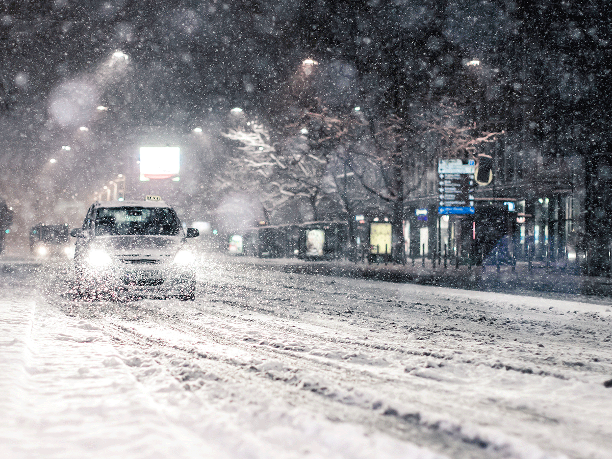 How to adapt your driving to winter conditions