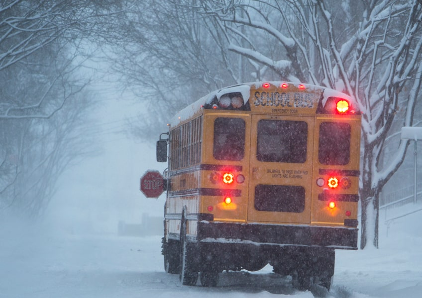 stuck-behind-a-schoolbus-be-careful