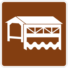 Road Signs : Covered bridge