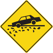 Road Signs : Risk of getting stuck