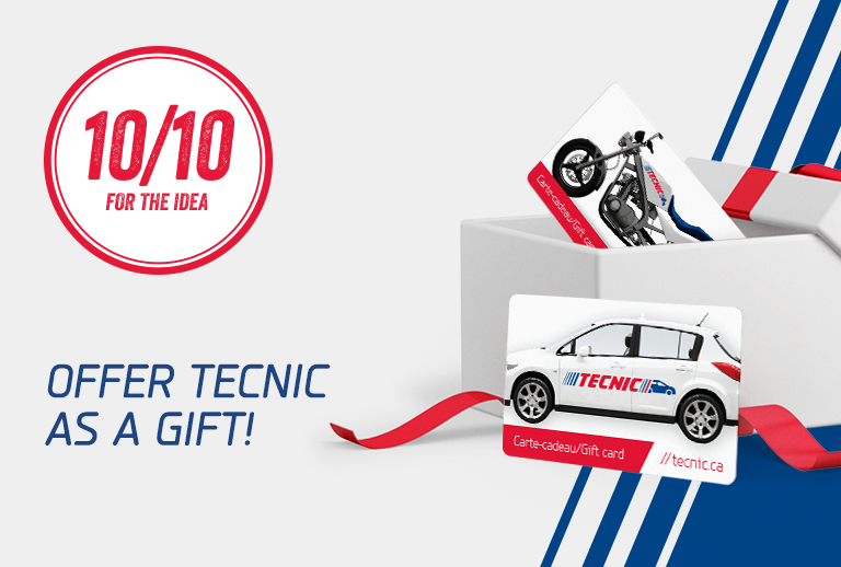 The TECNIC gift card