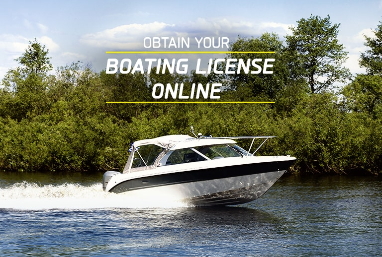 Obtain your boating license online today!
