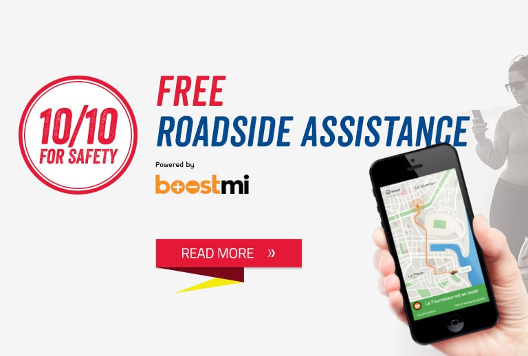 Free roadside assistance mobile