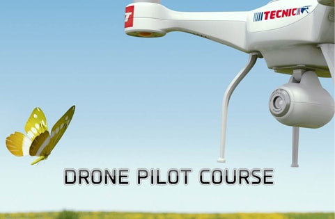 If you want to pilot a drone of over 250 g, you have to take a piloting course. Tecnic in alliance with KoptR offers you these course.