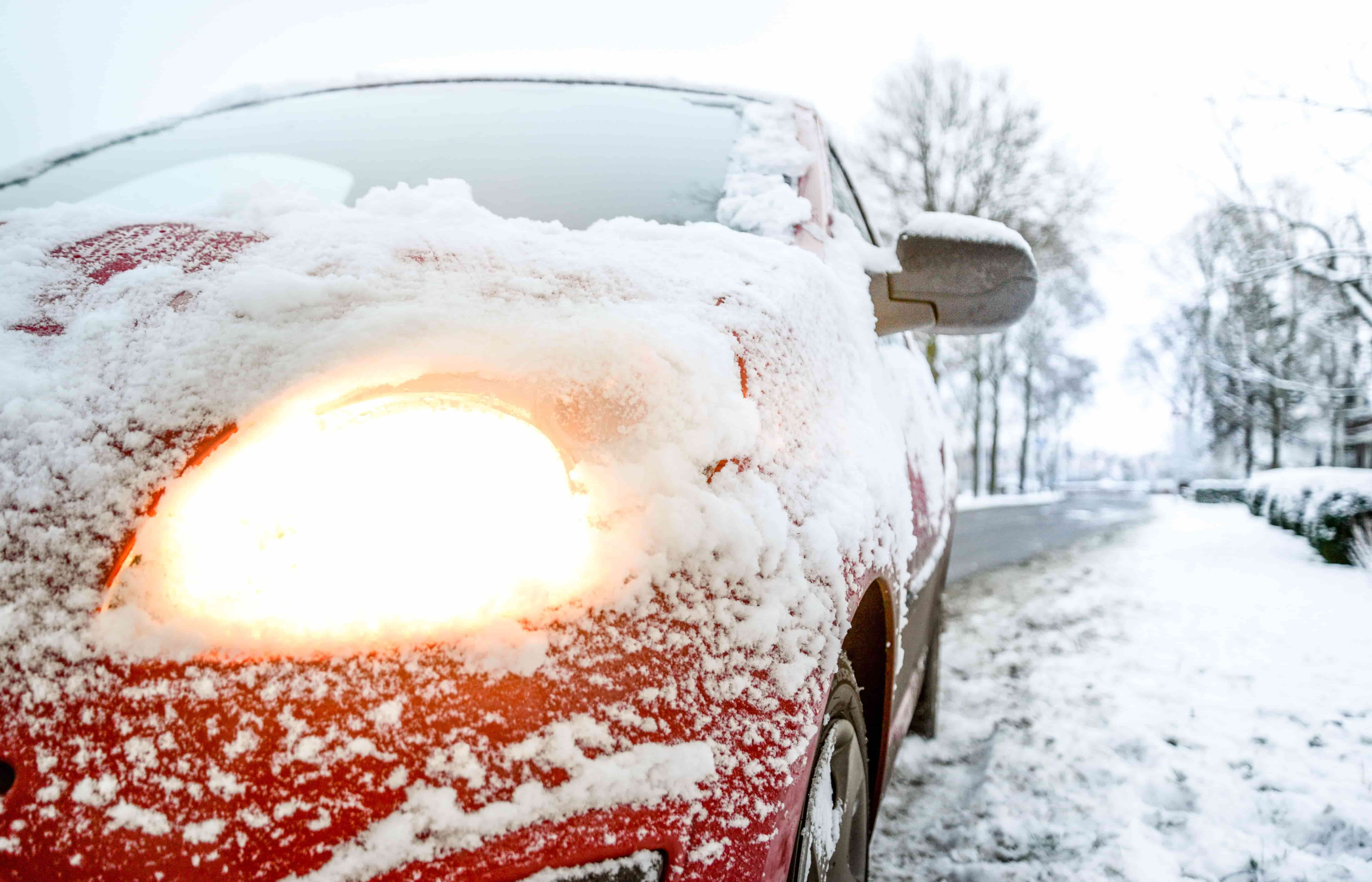 What is the best solution to heat your car quickly in winter.