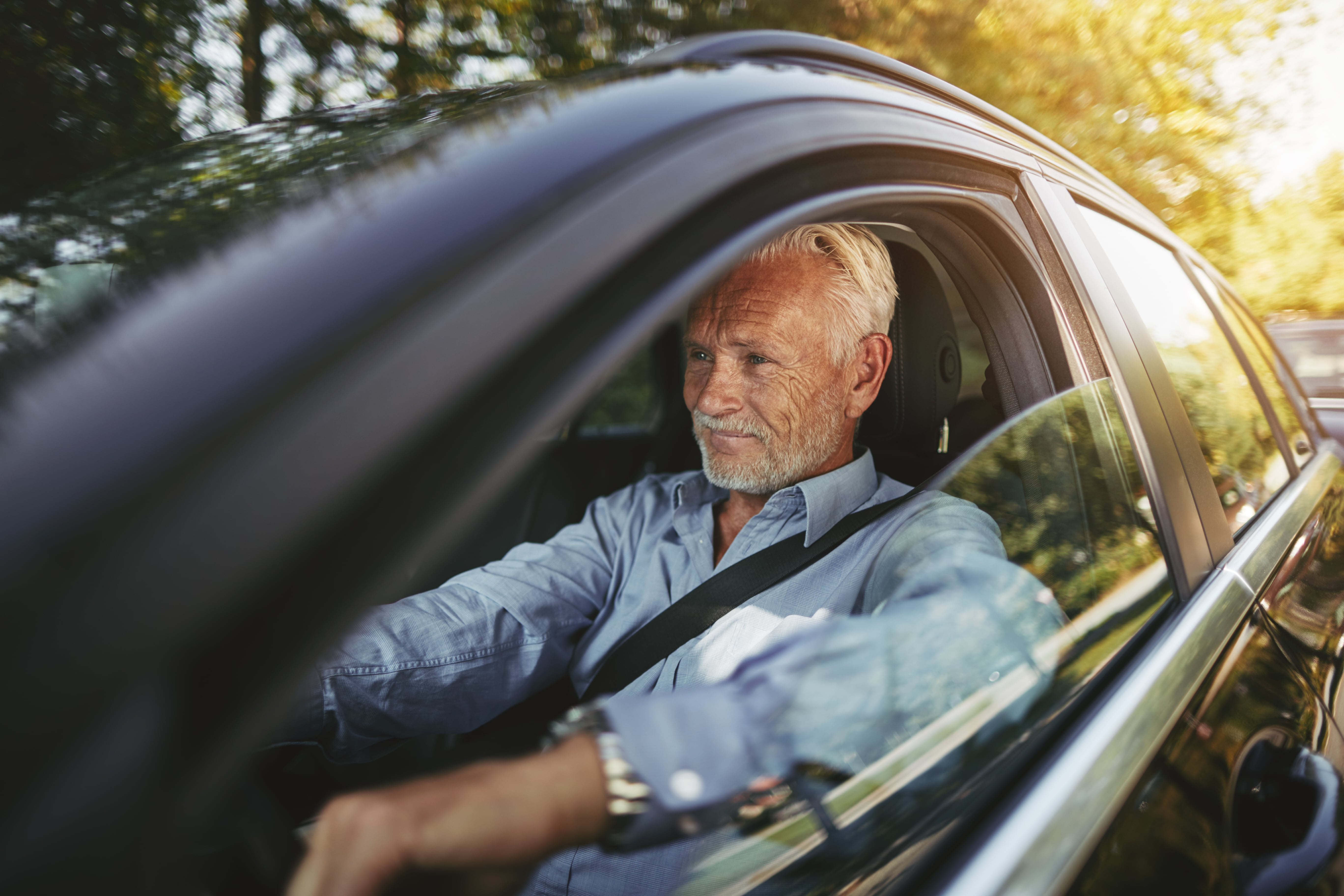 The effects of aging on driving
